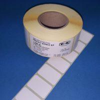 Rollenhaftetiketten 32x20mm für Thermotransferdruck